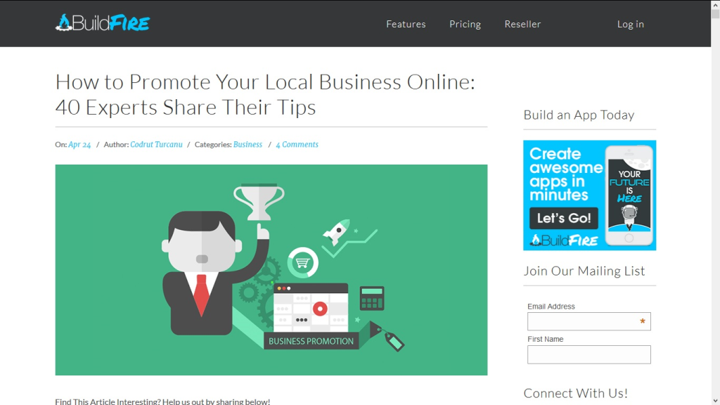 How to Promote Your Local Business Online: 40 Experts Share